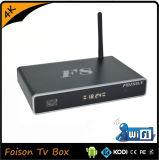 Горячая продавая коробка F8 алюминиевая TV с H. 265 поддержки набора микросхем S812 сердечника квада и 4k