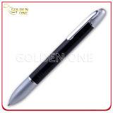 Pubblicità della penna di sfera promozionale di scatto con la maniglia di gomma