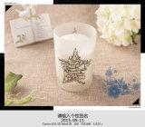 Heiße Verkaufs-Sojabohnenöl-Wachs-Kerze für Weihnachten