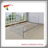 Cama matrimonial del metal caliente de la venta (HF034)