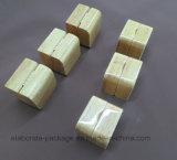 Contenitore di imballaggio su ordinazione del regalo dei monili di legno solido