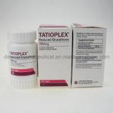 Tatioplex 피부 희게하기를 위한 300mg에 의하여 감소되는 글루타티온 캡슐