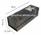 Kreatives Wein-Flaschen-Kasten-Verpackungs-Pappgeschenk-Papierkasten Hx100
