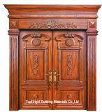 Portes en bois extérieures de luxe (CL-3049)