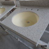 Dessus sanitaire en pierre artificiel de vanité d'articles