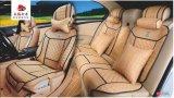 Amortiguador plano de la dimensión de una variable de la cubierta de asiento de coche con cuero cruzado inclinado