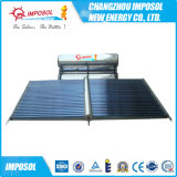 Calefator solar de alta pressão do comedor da placa lisa