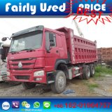 아프리카 국가에 팁 주는 사람 덤프 트럭의 사용된 6X4 HOWO 팁 주는 사람 트럭