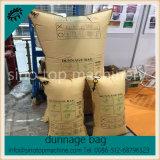 L'effondrement de papier de Brown emballage empêchent le sac d'air de gonfleur