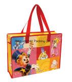 Выдвиженческий мешок багажа замка застежка-молнии сплетенный PP для покупкы