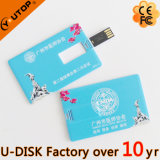 USB de la tarjeta de crédito Pendrive (YT-3101L3) de los regalos promocionales calientes de Customerized
