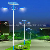 Double bras 30W * 2 Source lumineuse LED Solar Street Light