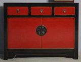 Китайский шкаф античной мебели деревянный