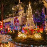 Luzes feericamente decorativas de Tring para ornamento do Natal do uso do feriado e do casamento