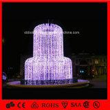 Brunnen-Motiv-Lichter des Feiertags-helle Weihnachtenled für Atrium-Einkaufszentrum-Dekoration