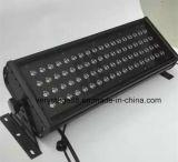 Luz de inundación al aire libre impermeable al aire libre de 72*3W RGB LED LED