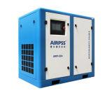 compressore d'aria rotativo azionato a cinghia della vite 7.5kw con il serbatoio di gas
