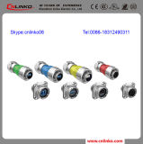 Электропитание Connectors Wih 1year Warranty Period Cnlinko M24 Jack Metal Power Connector/3pin