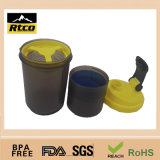 500ml pp. Plastic Eco-Friendly Feature Not Ceramic Coffee Promotion Shaker Mug (SHK-007)