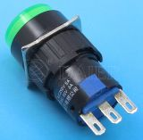 6pin Light 110V 220V Push Button Switch (A16-11SY/A16-11ZY/N)