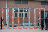 Porta de dobradura de alumínio da ruptura térmica da alta qualidade Kz263