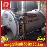 Gute Qualitätshohe Leistungsfähigkeits-horizontaler thermischer Öl-Dampfkessel