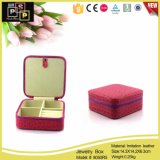 2016 New Of items PU Of leather Of printed of Box's Jewelry Custom Of logo (8050)