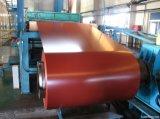 Corrugated катушка материала листа толя Prepainted гальванизированная стальная