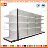 Form-doppelte Seiten-Gondel-Metallsupermarkt-Regale (ZHs615)