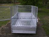 Konkurrenzfähiger Preis-ausgezeichnete Qualität galvanisierter Kasten-Schlussteil für Verkauf