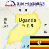 Frete de mar de Shenzhen/Wuhan de China a Kampala de Uganda