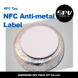 Nfc anhaftende Anti-Metallmarke 13.56 MHZ-Haustier Ntag216 ISO14443A