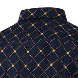 Les Mens amincissent les chemises de robe occasionnelle régulières en bonne santé de mode d'avant de bouton (A436)