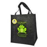 環境に優しいショッピング再使用可能な非編まれた袋(LJ-74)