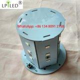 薄赤の12-24VDC青いこはく色に警告するLED標識
