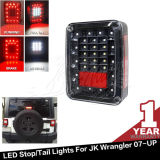 Diodo emissor de luz Tail Lights do preto ou do Smoke Jk Anzo Red para Jeep