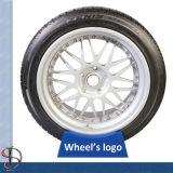 Soporte de acrílico para una rueda de la marca de fábrica