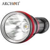 Archon 1200 электрофонарь подныривания белизны 6500k СИД люменов холодный с магнитным роторным переключателем кольца