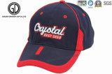 Le base-ball de logo de broderie du polyester 3D de qualité folâtre des chapeaux de rugby