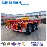 40FT de trois essieux de bâti remorque squelettique de camion semi à vendre
