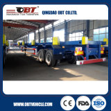 2 Radachse 40FT 35FT Container Chassis Skeletal Lowbed Semi Trailer