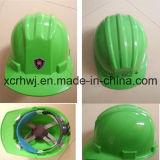 Protecção do Trabalho Construção Civil Mining Capacete de Segurança Industrial, de alta densidade industrial de polipropileno Shell Segurança