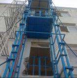 Tipo fixo tabela do trilho de guia de elevador de trabalho hidráulica