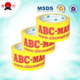 Cinta impresa producto marcado la cinta adhesiva
