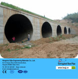 Sargeta Steel Corrugated Pipe em Road Drainage Ditches