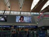 높은 정의를 가진 실내 풀 컬러 공항 P3 LED 스크린