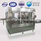 Botella de agua automática que aclara la máquina que capsula de relleno