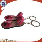 Cuoio Keychain (FTLK1308A) di figura del pattino di alta qualità di modo