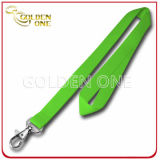Fuente Blank Pure Color Promotion Polyester Lanyard con Metal Hook