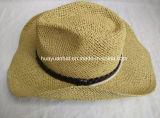 Sombrero de papel del borde de Shapeable del sombrero de vaquero del 100%
